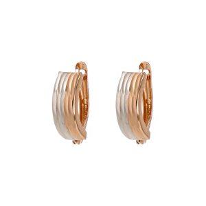 Kullast kõrvarõngad Eesti disain